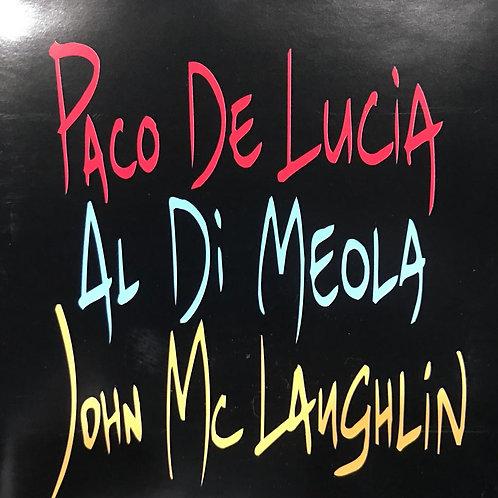 Paco De Lucía, Al Di Meola, John McLaughlin – The Guitar Trio