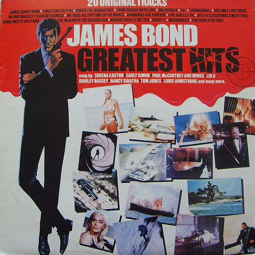 Various – James Bond Greatest Hits