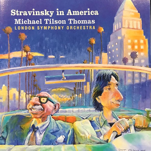 Michael Tilson Thomas, London Symphony Orchestra ‎– Stravinsky In America