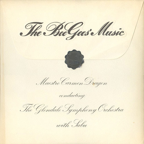 The Glendale Symphony Orchestra-‎– The Bee Gees' Music(MINT)