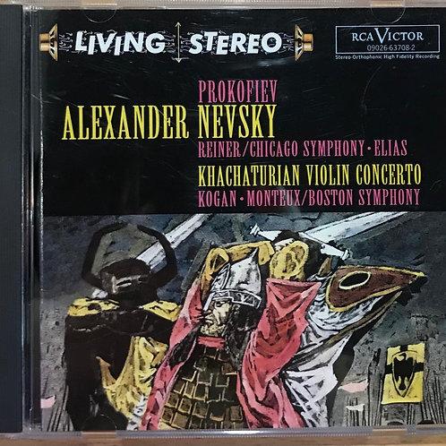 Prokofiev: Alexander Nevsky; Khachaturian: Violin Concerto