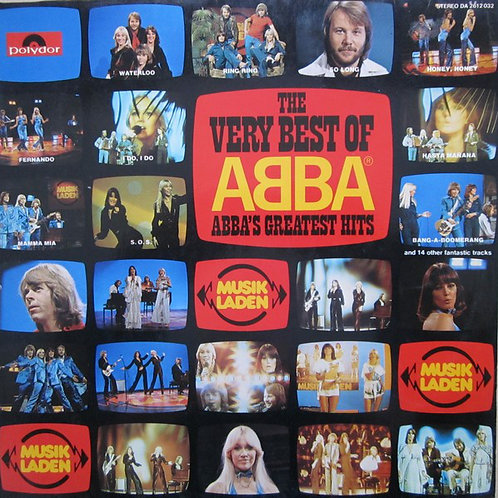 ABBA ‎– The Very Best Of ABBA (ABBA's Greatest Hits)  2XLP