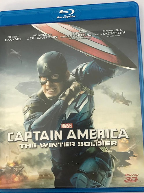 Captain America 2: The Winter Soldier 美國隊長2 3D Blu-Ray