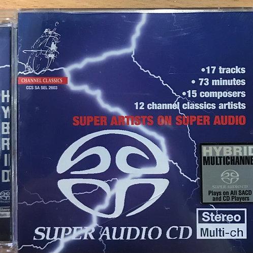 Various – Super Artists On Super Audio(SACD)