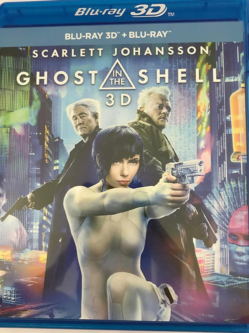 Ghost In The Shell 攻殼機動隊 2D + 3D Blu-Ray