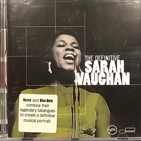 Sarah Vaughan ‎– The Definitive Sarah Vaughan