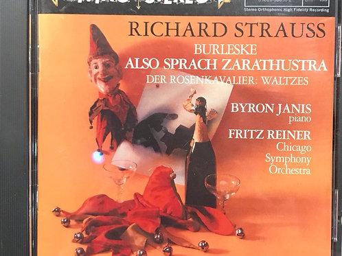Richard Strauss / Byron Janis / Fritz Reiner / Chicago Symphony Orchestra