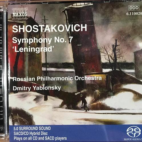"""Symphony No. 7 """"Leningrad""""(SACD)"""