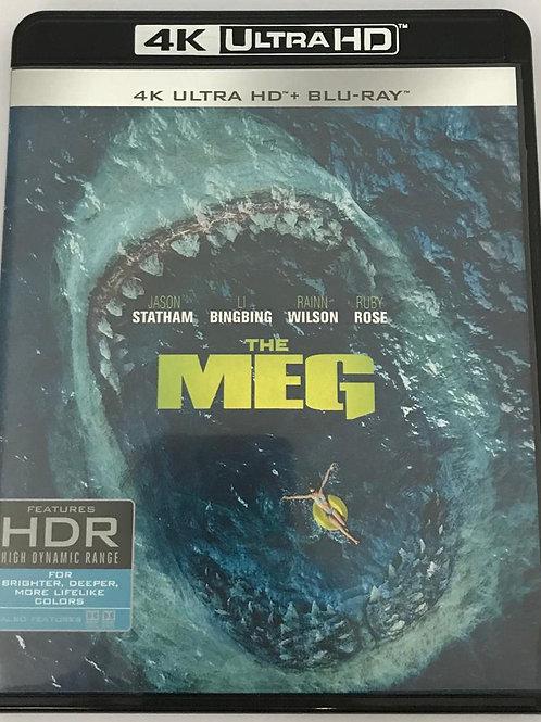 The Meg 極悍巨鯊 4K UHD + Blu-Ray (Hong Kong Version)