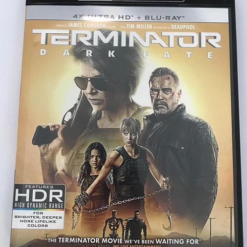 Terminator: Dark Fate 4K UHD + Blu-Ray 未來戰士: 黑暗命運 (Hong Kong Version)