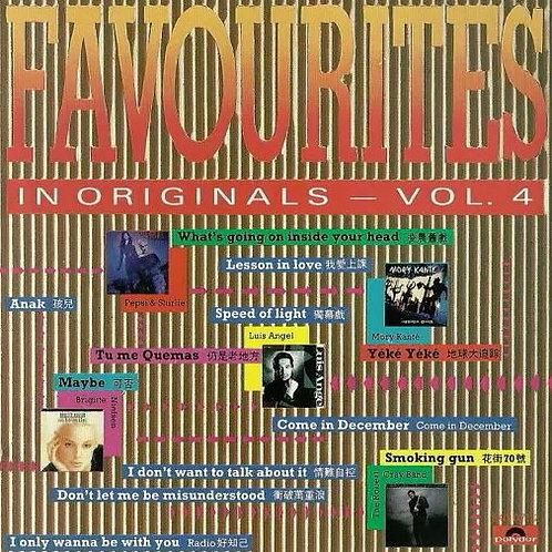 Various – Favourites In Originals — Vol. 4