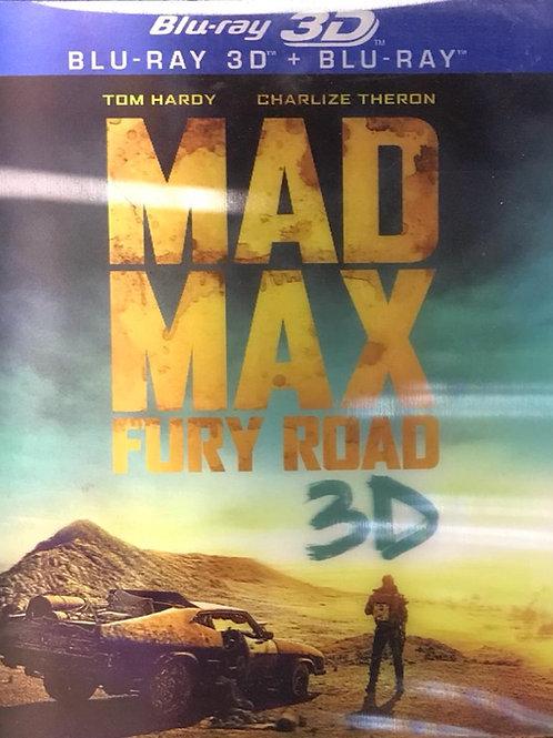 Mad Max: Fury Road 瘋狂麥斯:憤怒道 2D + 3D Blu-Ray