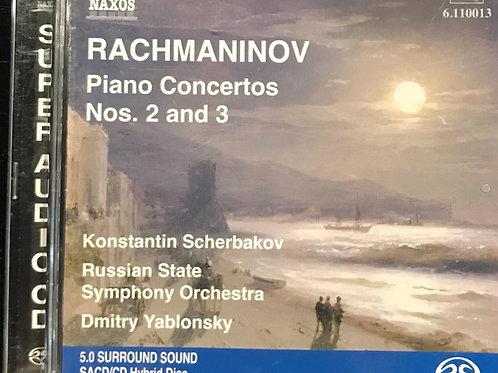 Rachmaninov Piano Concertos Nos. 2 And 3 (SACD)