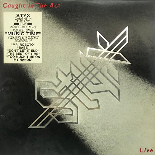 Styx – Caught In The Act Live(2LP)