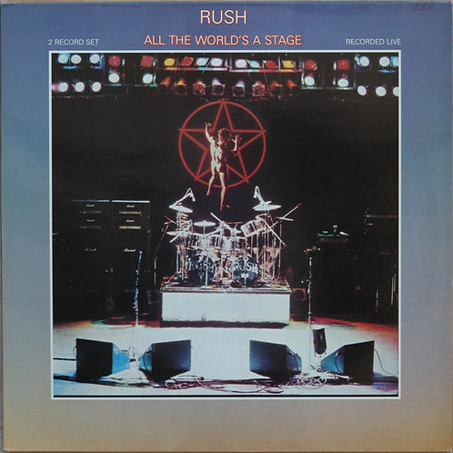 Rush ‎– All The World's A Stage(2LP)