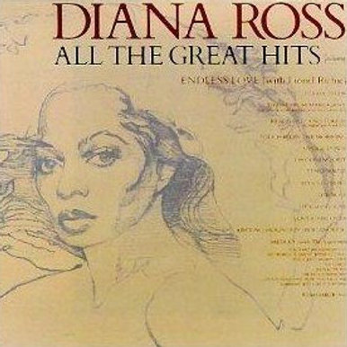 Diana Ross ‎– All The Great Hits(2LP)