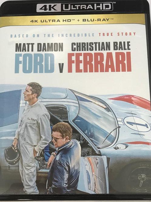 Ford v Ferrari 4K UHD + Blu-Ray  極速傳奇: 福特決戰法拉利 (Hong Kong Version)
