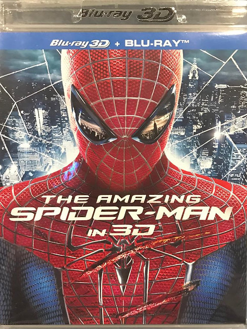 The Amazing Spider-Man 2D + 3D Blu-Ray 蜘蛛俠: 驚世現新