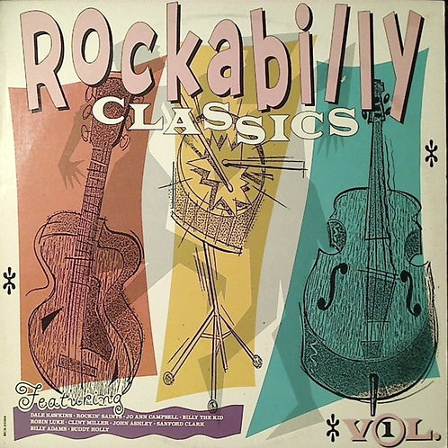 Various ‎– Rockabilly Classics Volume 1(MINT)