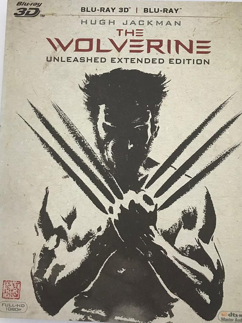 The Wolverine 2D + 3D Blu-Ray(Hong Kong Version)