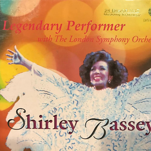Shirley Bassey ‎– Legendary Performer