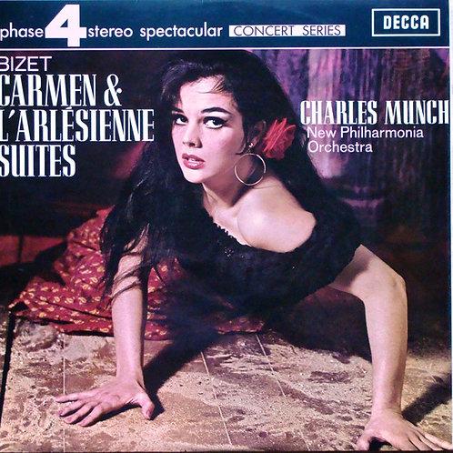 New Philharmonia Orchestra, Charles Munch, Bizet* – Carmen & L'Arlésienne Suite