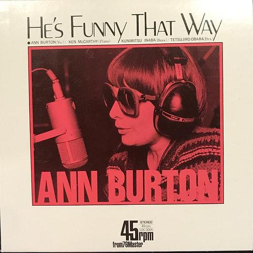 Ann Burton – He's Funny That Way