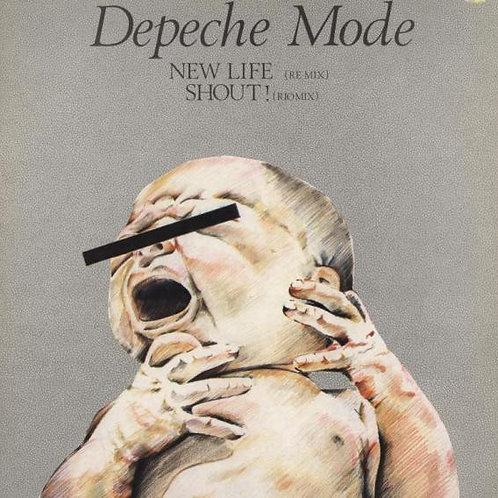 Depeche Mode – New Life (Re Mix) / Shout! (Rio Mix)