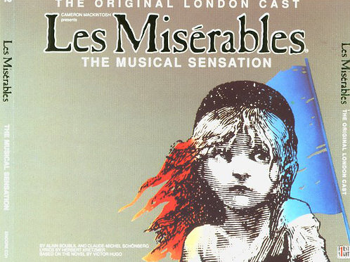 Alain Boublil And Claude-Michel Schönberg ‎– Les Misérables - The Original Londo