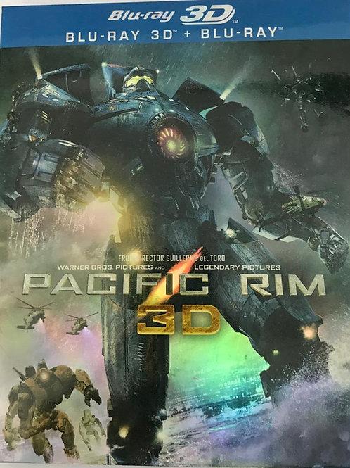 Pacific Rim 2D + 3D Blu-Ray