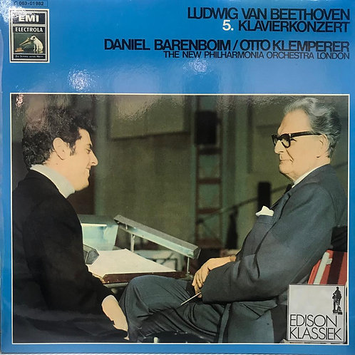 Beethoven* - Daniel Barenboim / Otto Klemperer, The New Philharmonia Orchestra L
