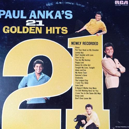 Paul Anka – Paul Anka's 21 Golden Hits