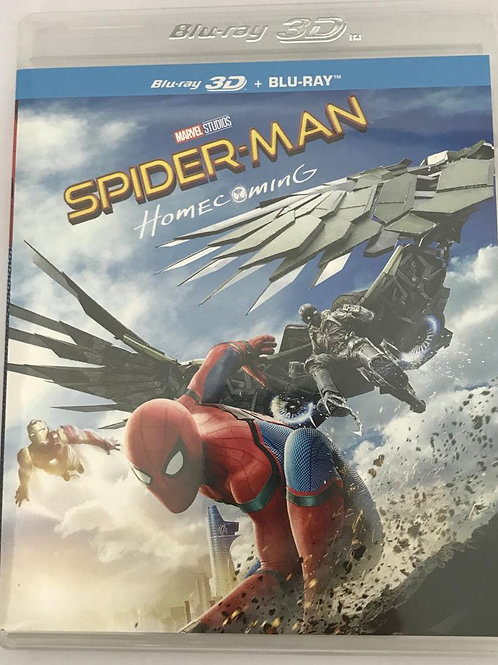 Spider-man Homecoming 蜘蛛俠: 強勢回歸 Blu-Ray