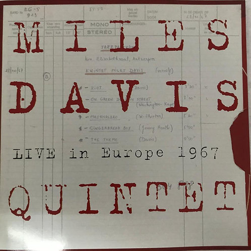 Miles Davis Quintet* ‎– Live In Europe 1967 - Best Of Bootleg Vol. 1