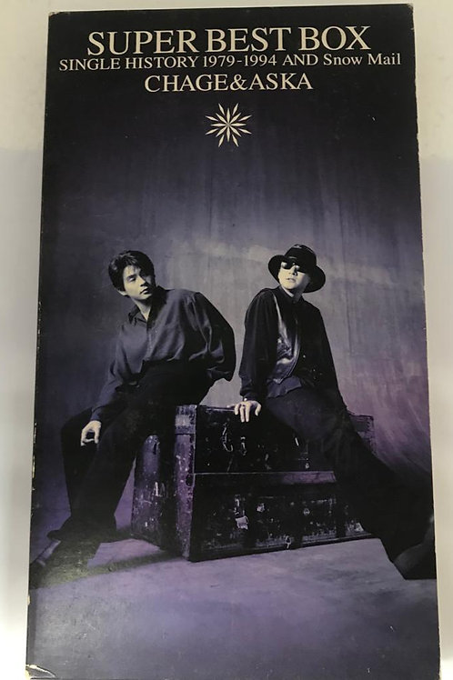 恰克與飛鳥 CHAGE & ASKA SUPER BEST BOX 4CD
