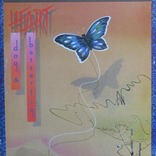 Heart – Dog & Butterfly