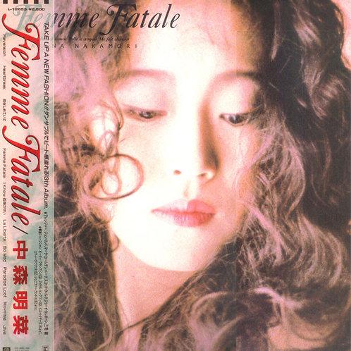 中森明菜 –  Femme Fatale