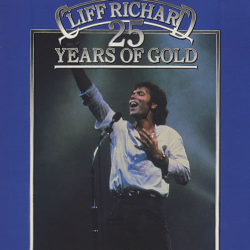 Cliff Richard ‎– 25 Years Of Gold