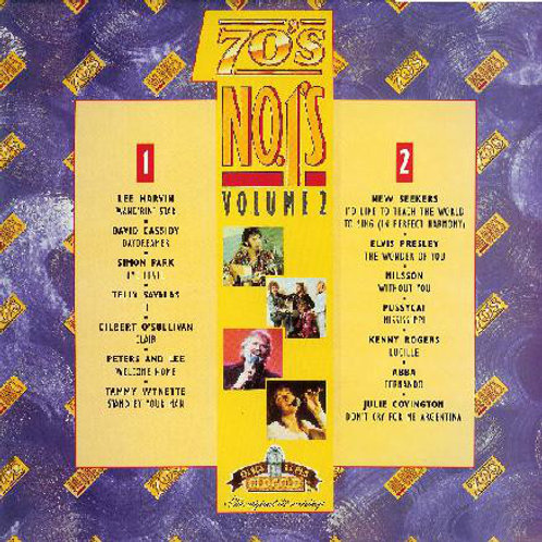 Various – 70's No.1's (Volume 2)(MINT)