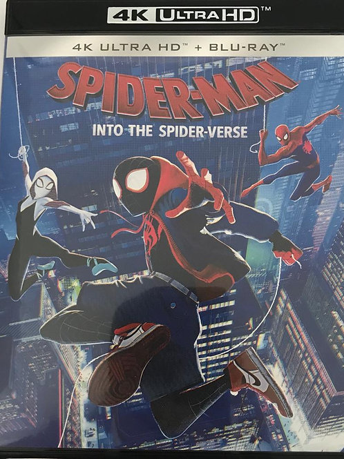 Spider-man: Into the Spider-Verse 4K UHD + Blu-Ray 蜘蛛俠: 跳入蜘蛛宇宙