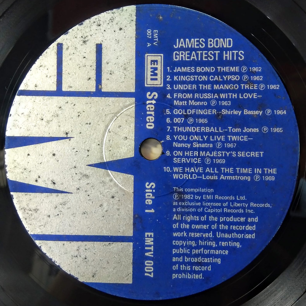 Various ‎– James Bond Greatest Hits | vinylhk com
