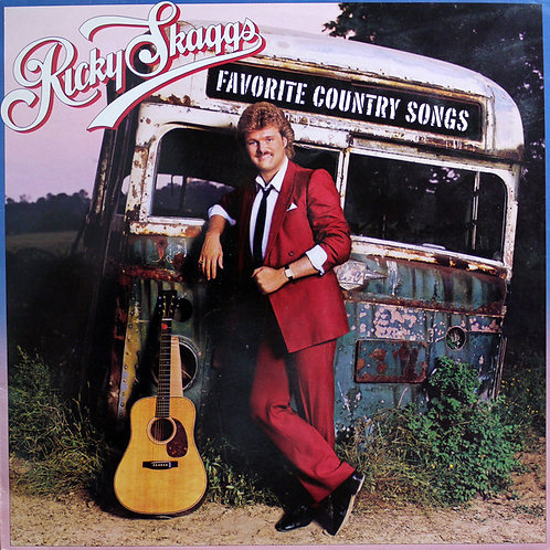 Ricky Skaggs ‎– Favorite Country Songs(MINT)