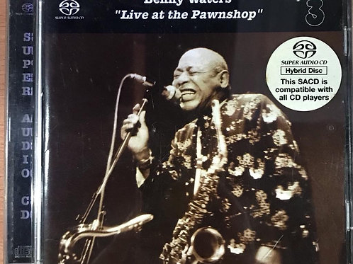 Benny Waters Featuring Björn Milder – Live At The Pawnshop(SACD)