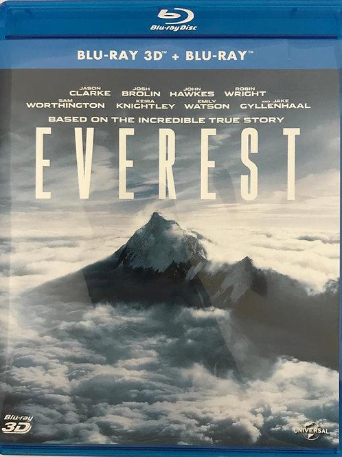 Everest 珠峰浩劫 2D + 3D Blu-Ray