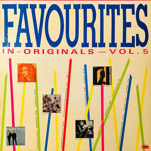 Various – Favourites In Originals - Vol. 5 (MINT)