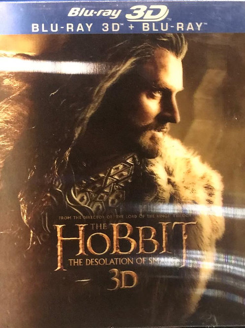The Hobbit: The Desolation of Smaug 哈比人:荒谷惡龍 2D + 3D Blu-Ray
