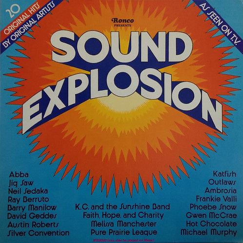 Various – Sound Explosion(MINT)