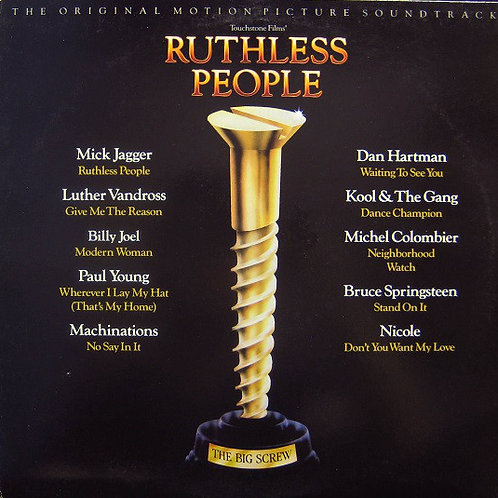 Various – Ruthless People (The Original Motion Picture Soundtrack)