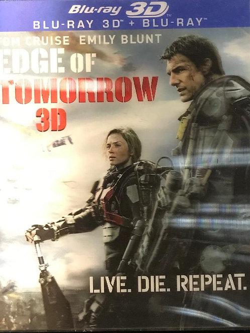Edge Of Tomorrow Live. Die. Repeat. 異空戰士 2D + 3D Blu-Ray