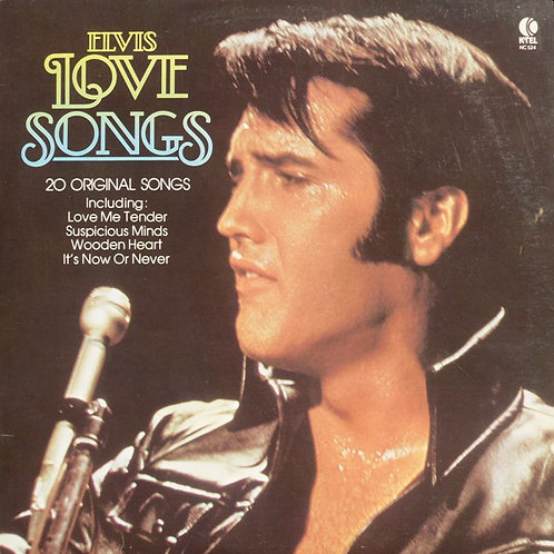 Elvis Presley ‎– Elvis Love Songs (20 Original Songs)